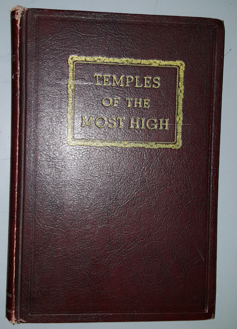 TEMPLES OF THE MOST HIGH (1941), Lundwall, N. B. (compiled by)