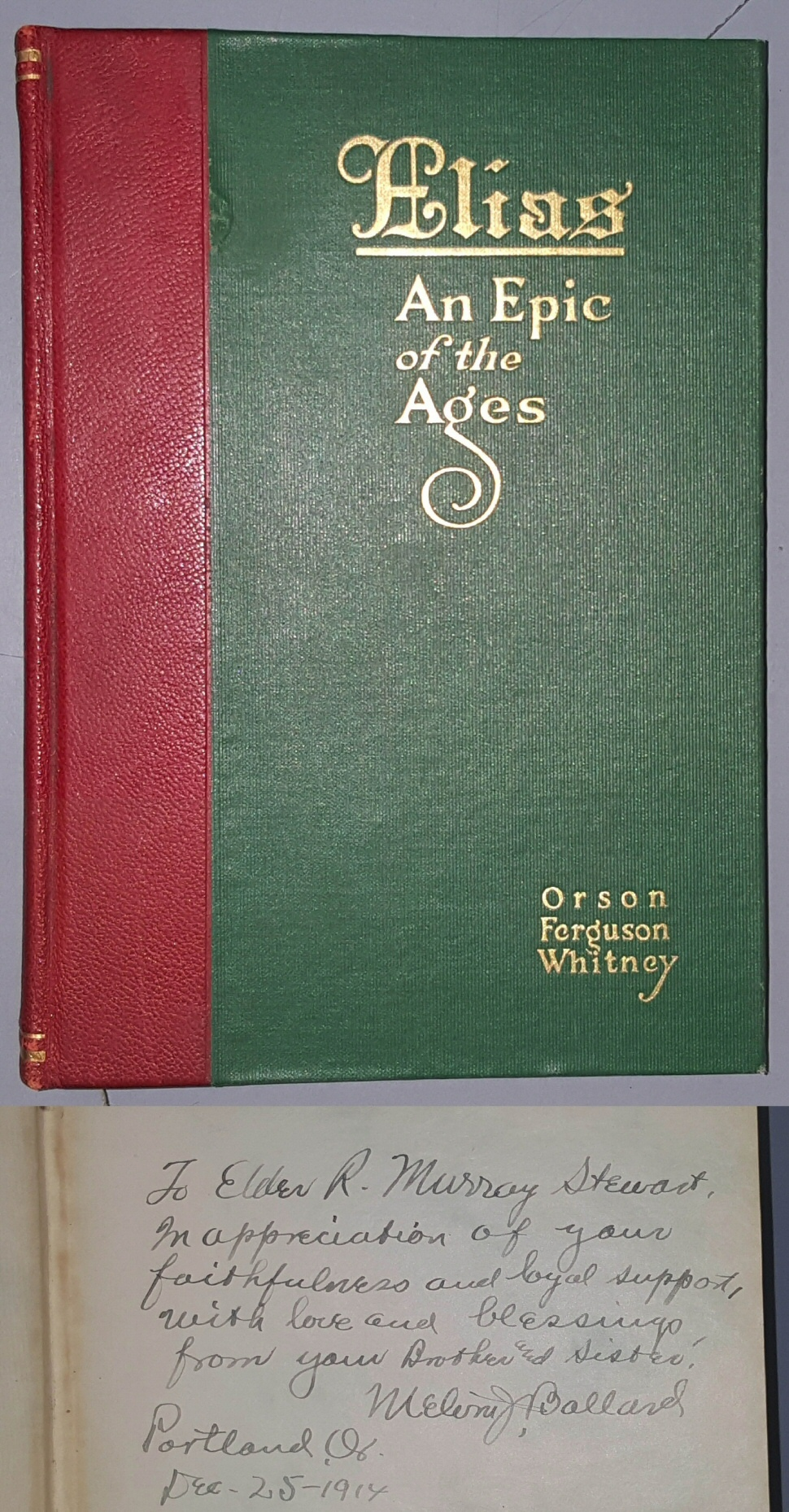 Elias - an Epic of the Ages, Whitney, Orson Ferguson