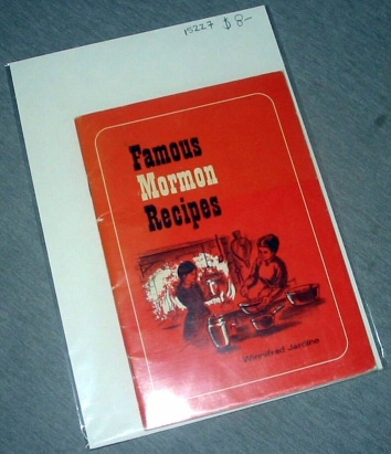 FAMOUS MORMON RECIPES, Jardine, Winnifred C.