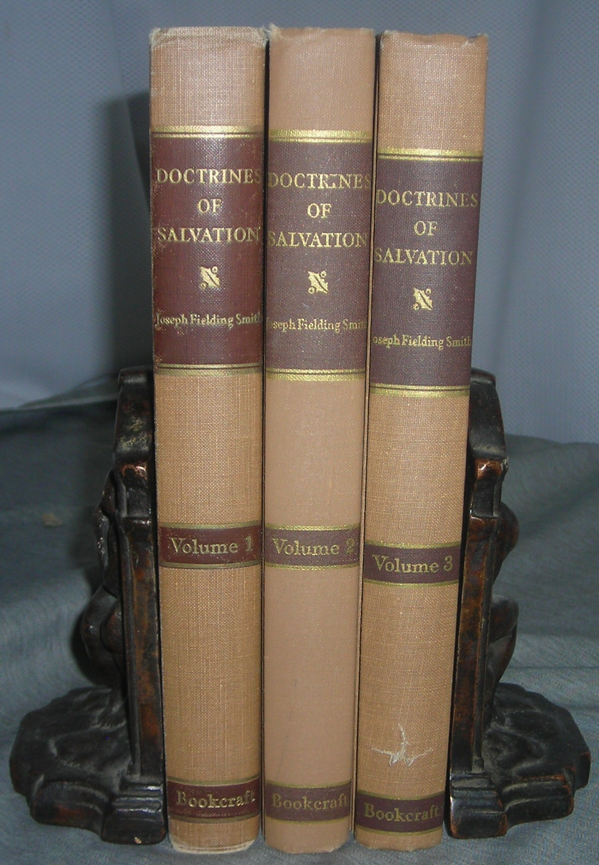 Image for DOCTRINES OF SALVATION - 3 VOLUME SET - Sermons and Writings of Joseph Fielding Smith - Volumes 1-3