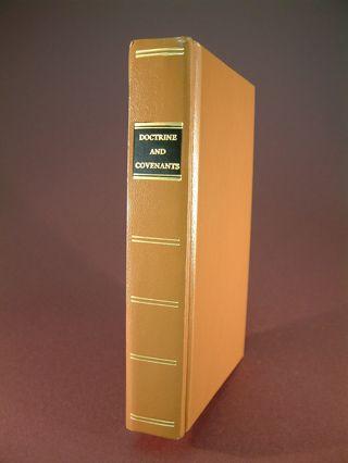 Replica of 1835 Doctrine and Covenants Mormon - Brand NEW!, Smith, Joseph editor