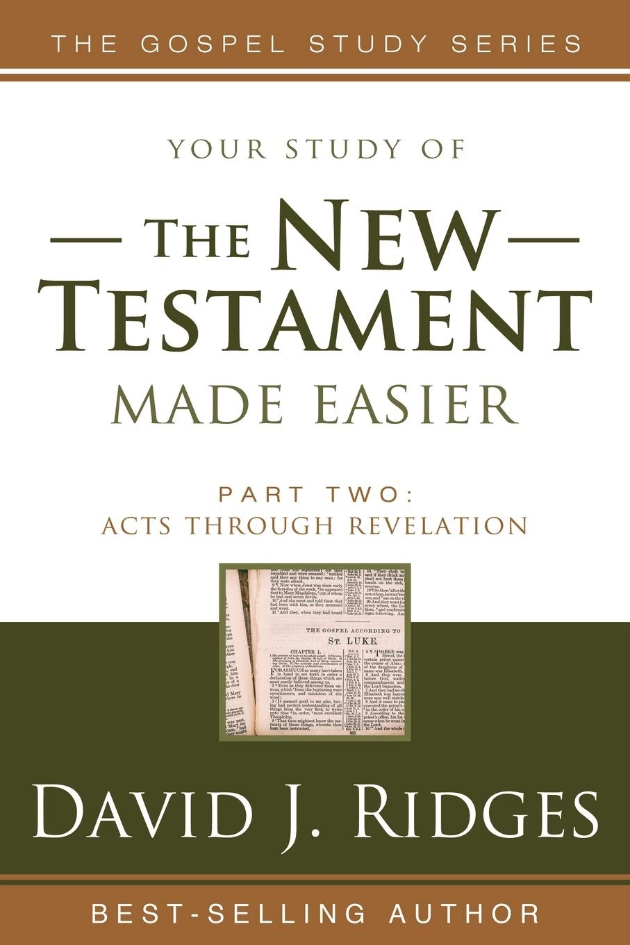 THE NEW TESTAMENT MADE EASIER - PART 2, Ridges, David J.
