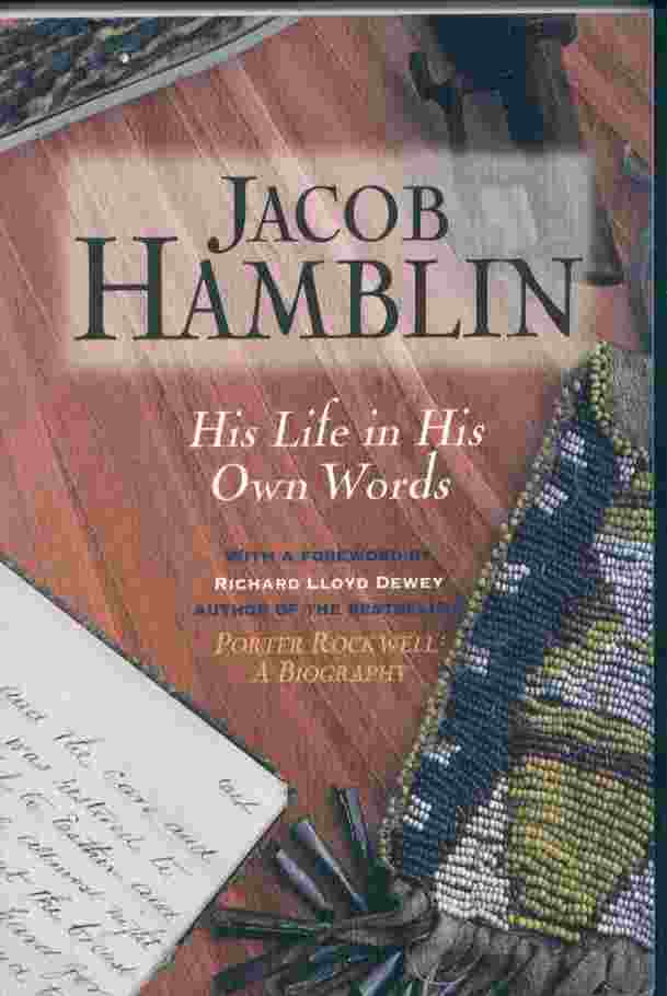 Image for JACOB HAMBLIN - His Life in His Own Words