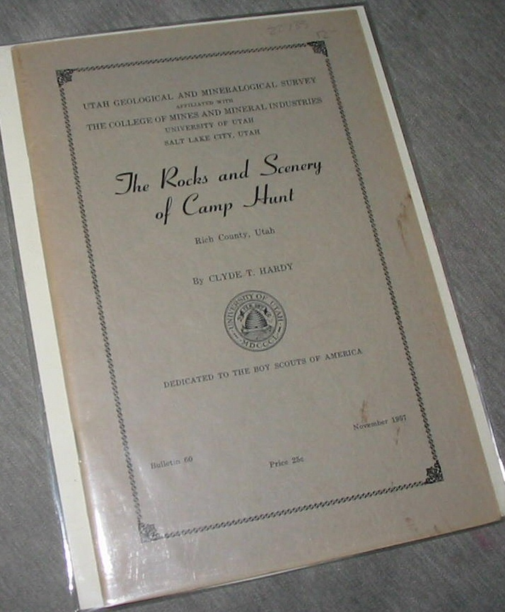 THE ROCKS AND SCENERY OF CAMP HUNT, Hardy, Clyde T.
