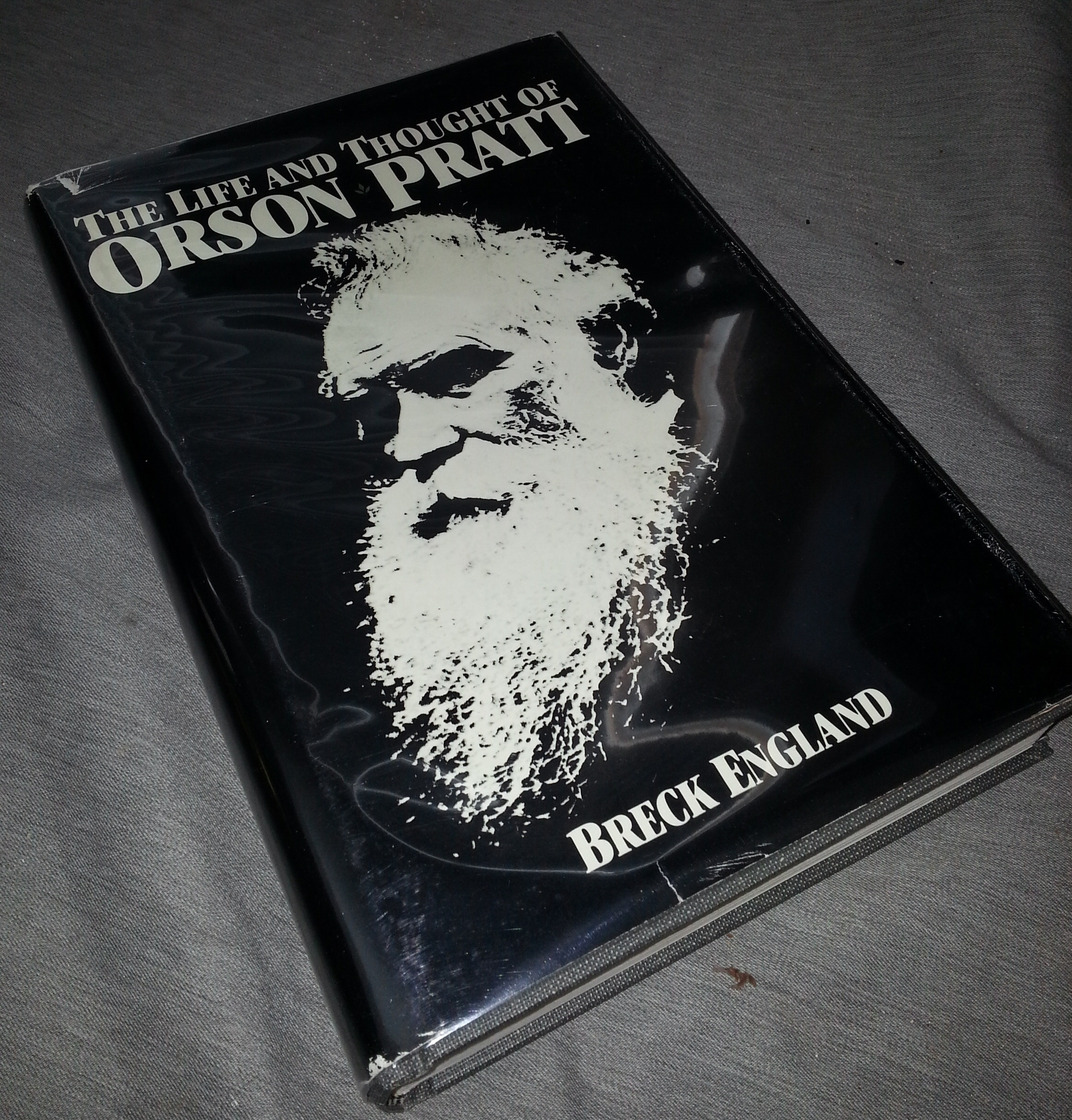 The Life and Thought of Orson Pratt, England, Breck