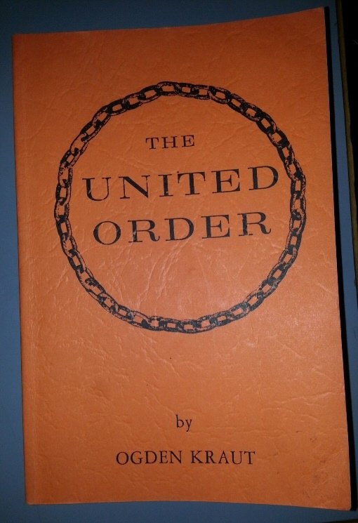 THE UNITED ORDER, Kraut, Ogden