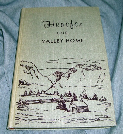 HENEFER, OUR VALLEY HOME, Richins, Fannie J. & Maxine R. Wright