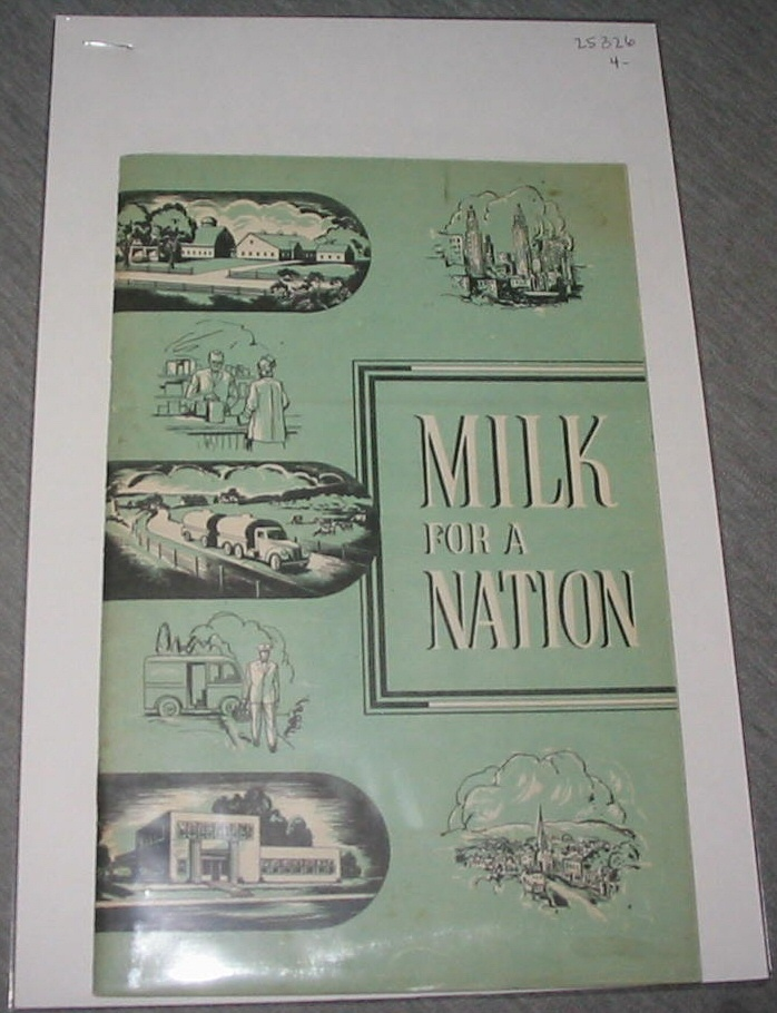 Milk for a Nation, National Dairy Council