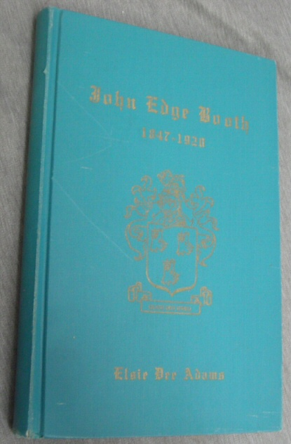 Image for John Edge Booth - 1847-1920