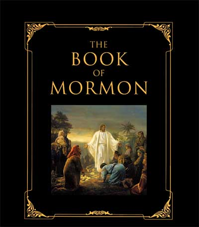 Book of Mormon - Leather - Family Heritage Edition (Hardcover with Gift Box)