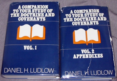 A companion to your study of the Doctrine and Covenants - Vols 1 & 2 2 Volume Set, Ludlow, Daniel H.