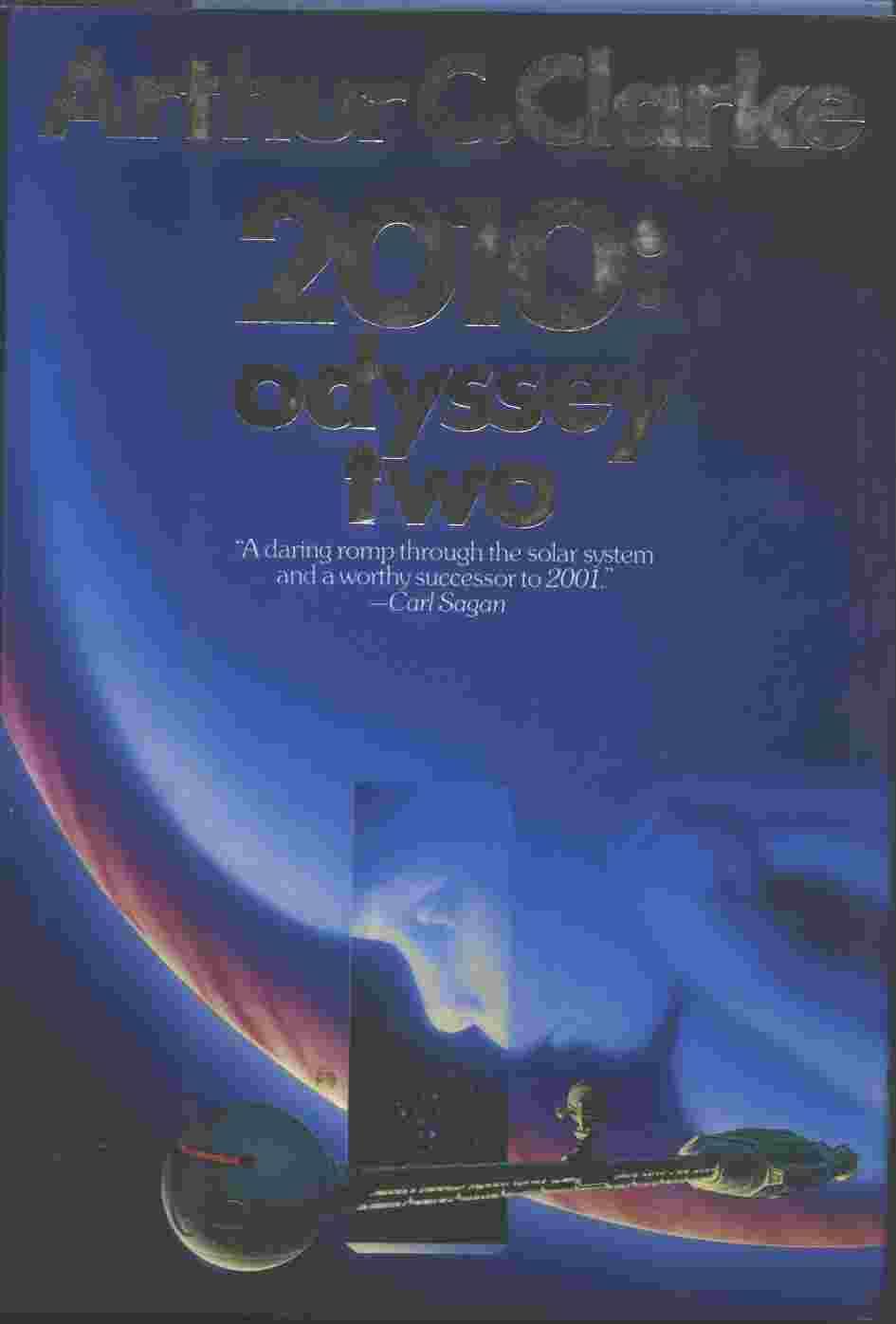 2010:   Odyssey Two, CLARKE, ARTHUR C.