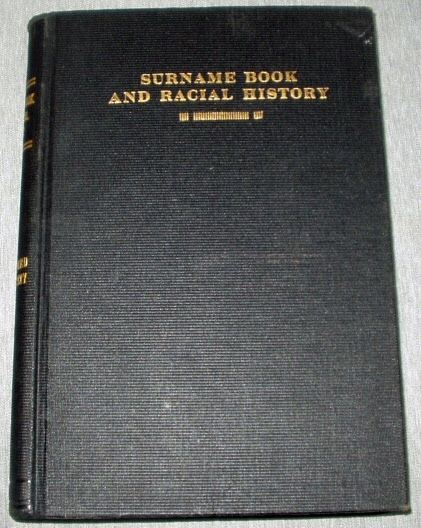 SURNAME BOOK AND RACIAL HISTORY - UTAH - MORMON, Gates, Susa Young