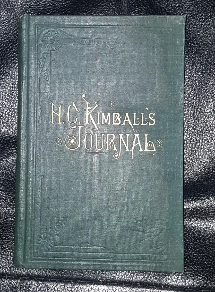 PRESIDENT HEBER C. KIMBALL'S JOURNAL, Kimball, Heber C.