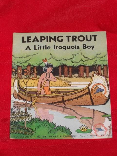 LEAPING TROUT A LITTLE IROQUOIS BOY - 3300C, Roger Vernam