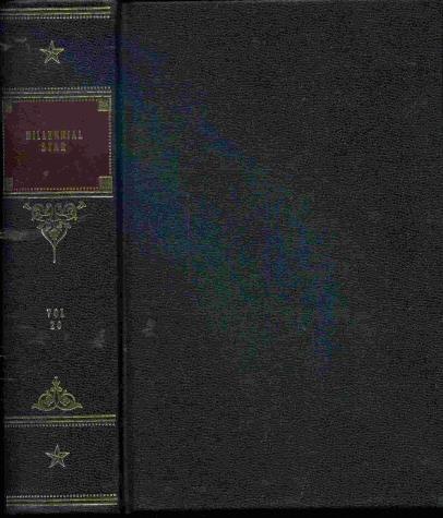 MILLENNIAL STAR - HARDCOVER - MORMON - 1858 - Vol 20