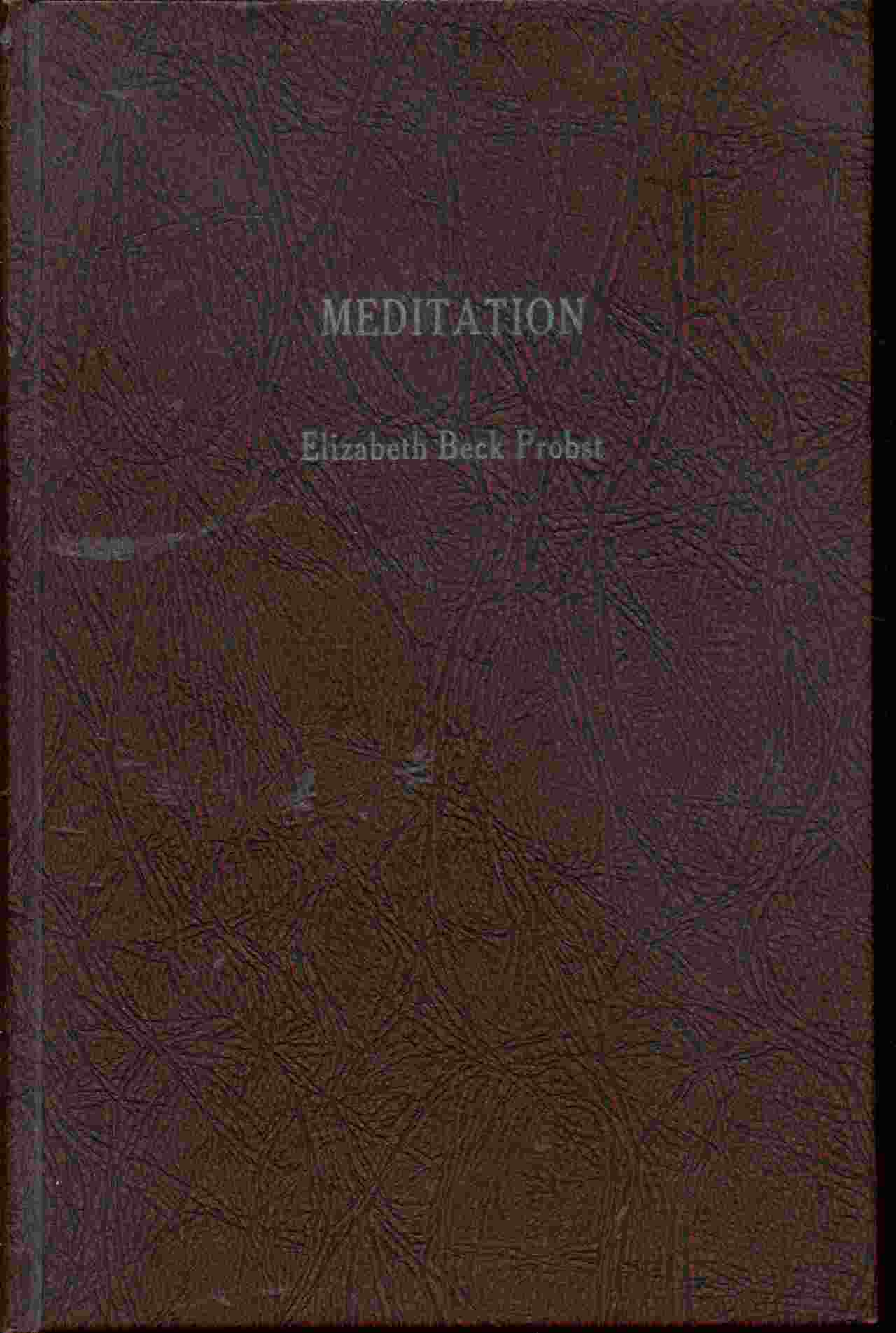 Image for MEDITATION