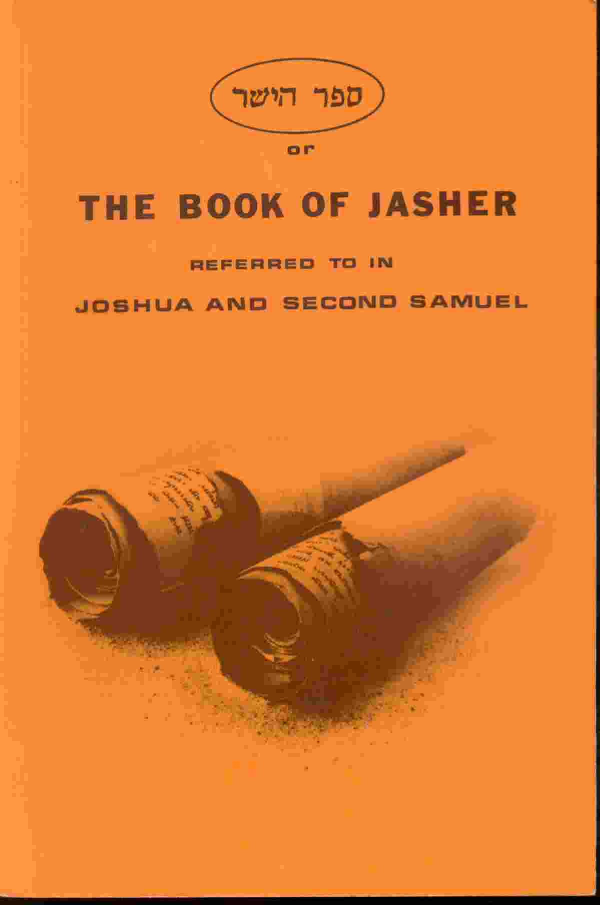 Image for THE BOOK OF JASHER - 1887 -  Referred to in Joshua and Second Samuel.