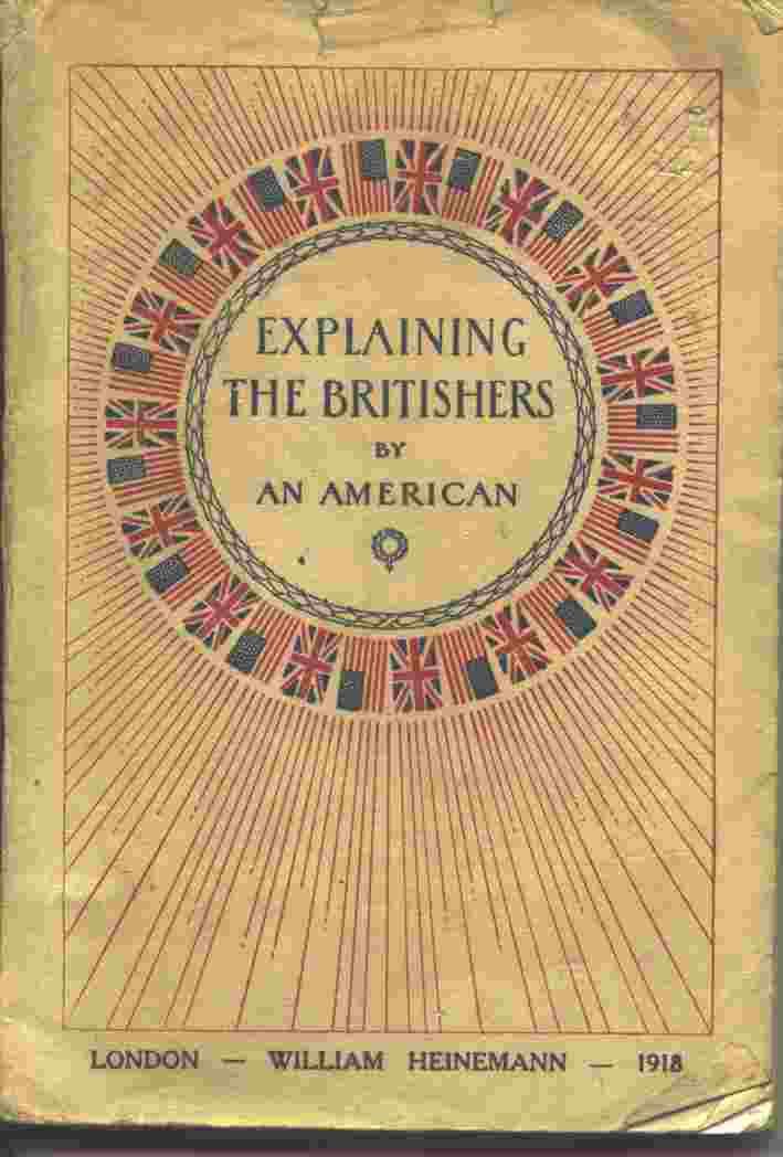Image for EXPLAINING THE BRITISHERS