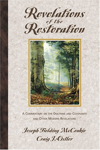 Image for REVELATIONS OF THE RESTORATION