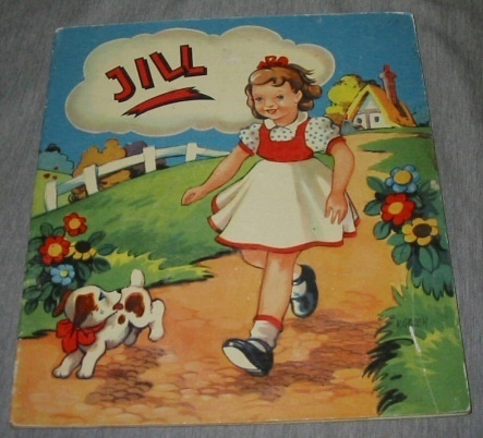 JILL - NOVELTY MECHANICAL DOLL BOOK, Green, V.