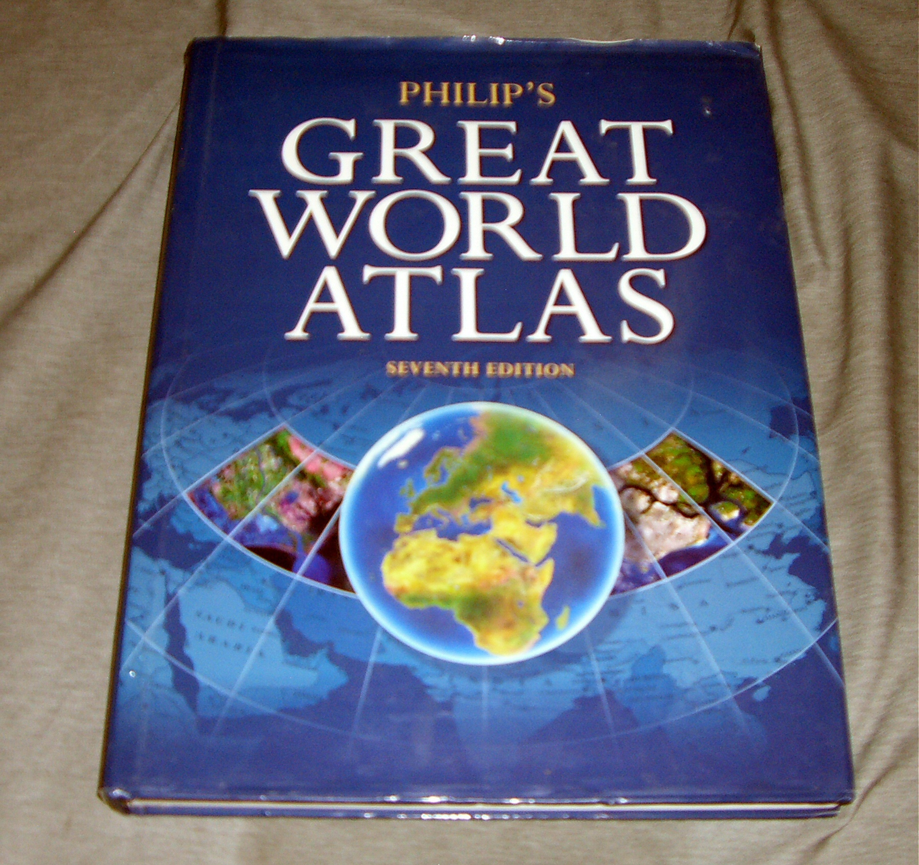 PHILIP'S GREAT WORLD ATLAS, Group, Octopus Publishing