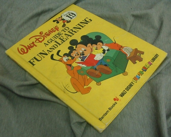 A GUIDE TO FUN AND LEARNING, Disney, Walt