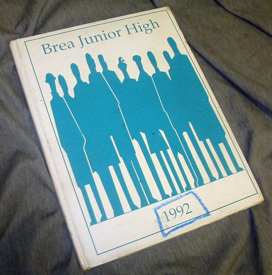 A LITTLE BIT OF EVERYTHING - BREA JUNIOR HIGH - 1992 - (Brea, California)