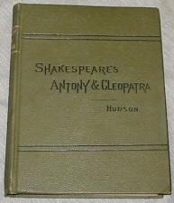 SHAKESPEARE'S ANTONY AND CLEOPATRA, Hudson, Henry N.
