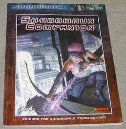 SHADOWRUN COMPANION -  Revised for Shadowrun Third Edition, Fanpro,