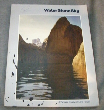 Image for WATER, STONE, SKY -   A pictorial essay on Lake Powell