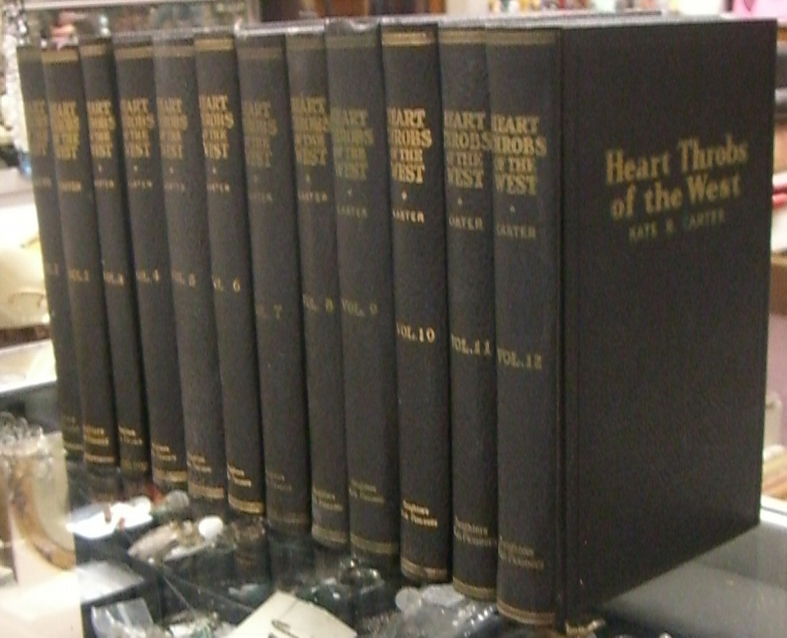Heart Throbs of the West [Full Set of 12 Volumes], Kate B. Carter