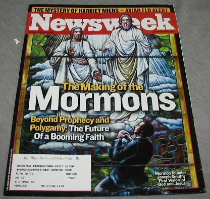 NEWSWEEK Mormon Content - the Making of the Mormons