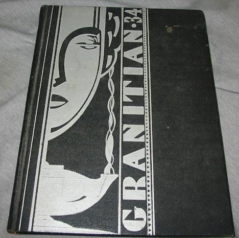 Image for GRANITIAN - 1934 - Granite High School, Salt Lake City, UT