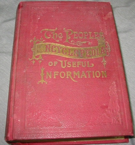 Image for THE POEPLES ENCYCLOPEDIA OF USEFUL INFORMATION - A Compendium of Facts, Forms, Figures, Formulas and General Information.