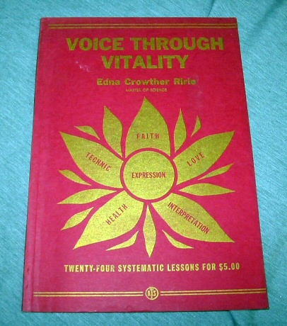 Image for Voice through Vitality - Twenty-Four Systematic Lessons for $5.00