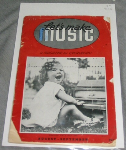 Let's Make Music A Magazine for Everybody - August-September, Britton, Evalyn (editorial Staff)