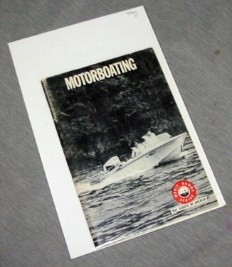 Motorboating, Boy Scouts Of America