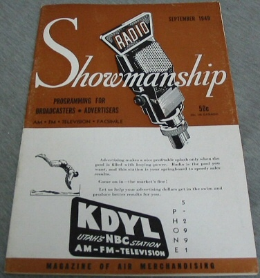 Radio Showmanship - Programming for Broadcasters - Advertisers
