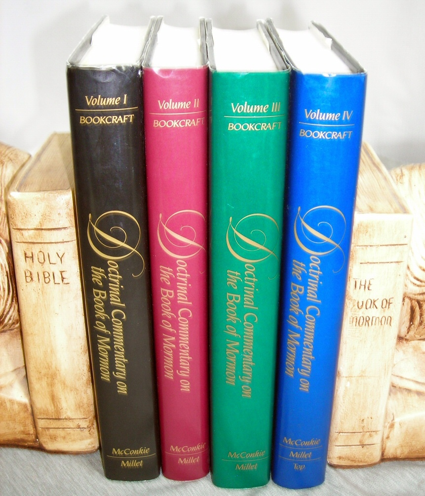 Doctrinal Commentary on the Book of Mormon [4 Volume Set] -  Complete Series - 1,2,3,4 -, McConkie, Joseph Fielding and Millet, Robert L. and Top, Brent L.