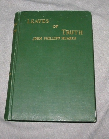 Image for Leaves of Truth - Utah and the Mormons. Papers, Poems an Letters. an Appeal for a Nobler Manhood.