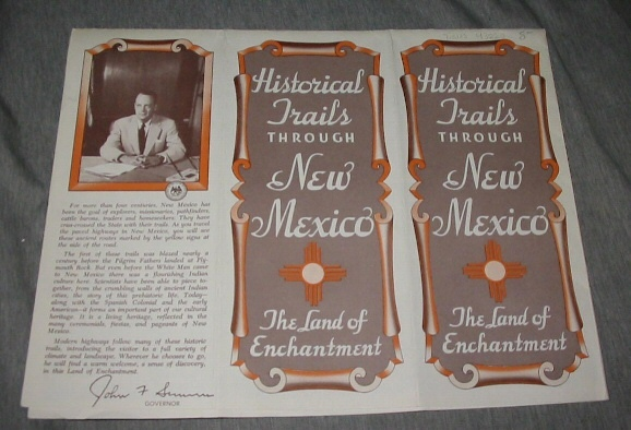Historical Trails through New Mexico - The Land of Enchantment