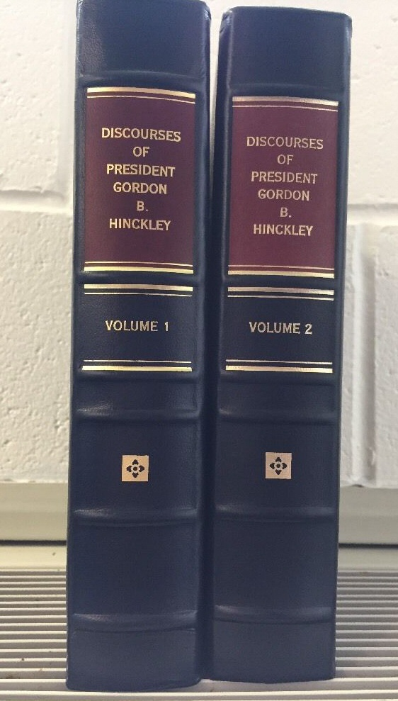 DISCOURSES of President GORDON B. HINCKLEY - LEATHER Volume 2, 2000-2004