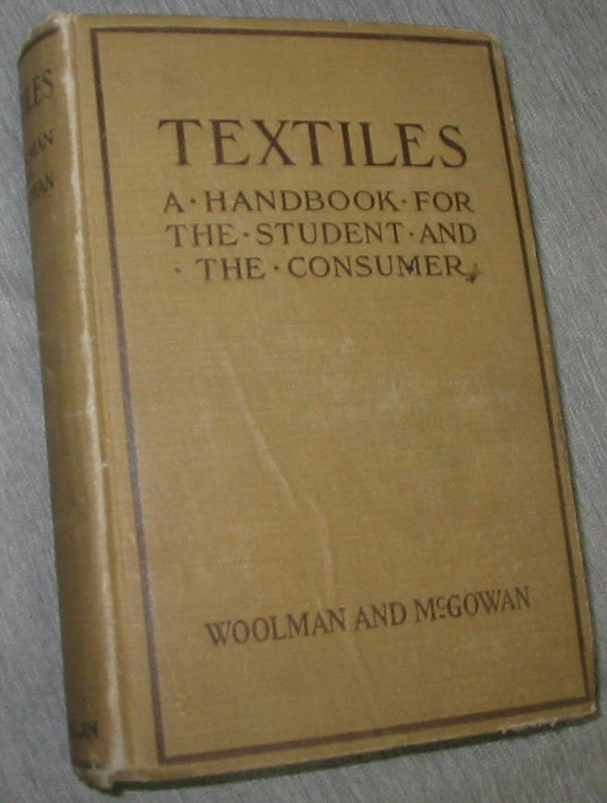 Image for Textiles - A Handbook for the Student and the Consumer