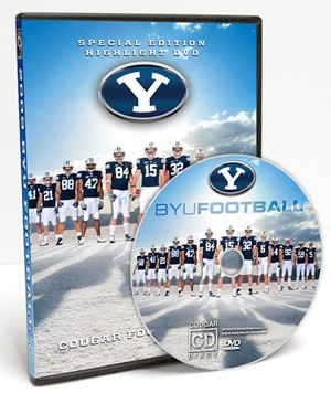 BYU Cougar Football 2009 - Special Edition DVD.