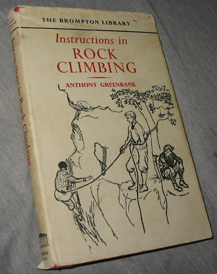 Image for Instructions in Rock Climbing