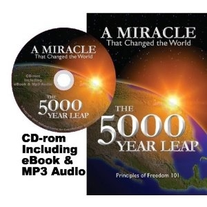 THE 5000 YEAR LEAP - FIVE THOUSAND - Book and MP3 Audio - MP3 Audio - a Miracle That Changed the World, Skousen, W. Cleon
