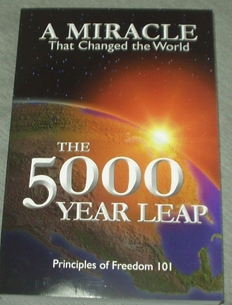 THE 5000 YEAR LEAP - FIVE THOUSAND - The 28 Great Ideas That Changed the World, Skousen, W. Cleon
