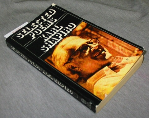 Selected Poems, Shapiro, David L.
