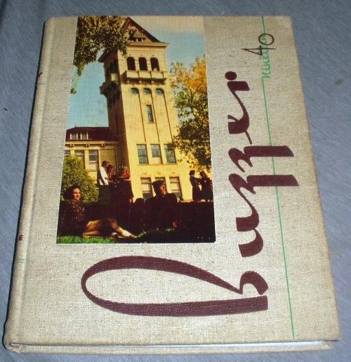 Image for THE Buzzer of 1940 - Utah State - USAC - Logan University